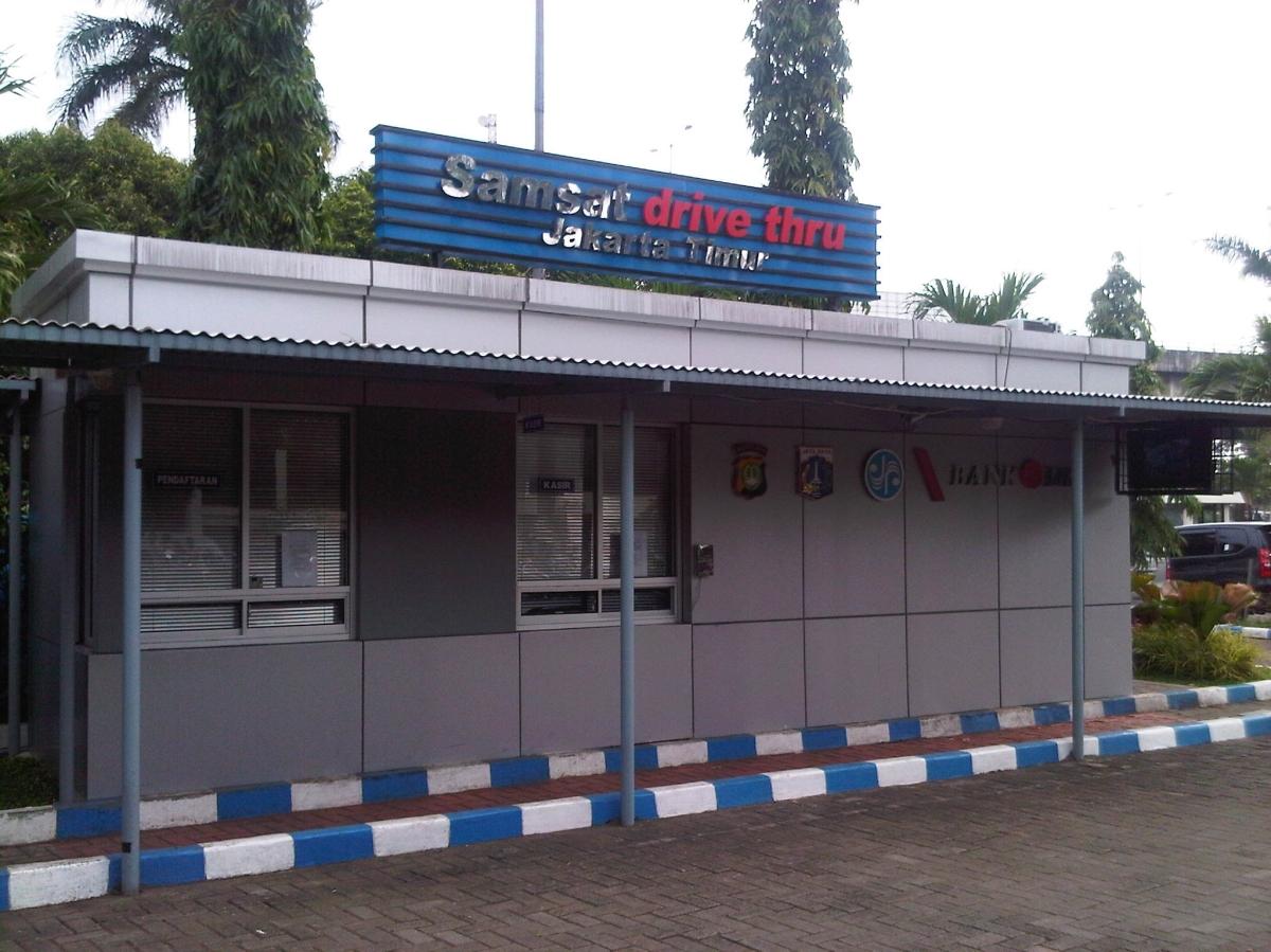 Prosedur Perpanjang STNK Drive Thru di SAMSAT JAKARTA TIMUR