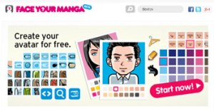Aplikasi membuat Karakter Manga