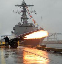 USS_Sampson_Christening